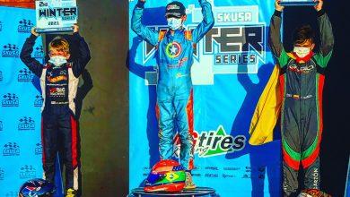 Photo of Kart – Enzo Vidmontiene é campeão na etapa de Miami e fica com vice do SKUSA Winter Series