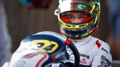 Photo of Kart – Miguel Costa é destaque em Sarno com top-5 nas eliminatórias e fica próximo de um pódio na OK Junior