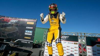 Photo of Sprint Race – Pedro Aizza, piloto mais jovem da GT Sprint Race, é campeão da primeira corrida em Cascavel